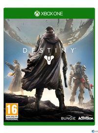 Portada oficial de Destiny para Xbox One