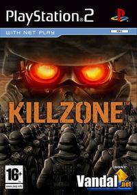 Portada oficial de KillZone para PS2