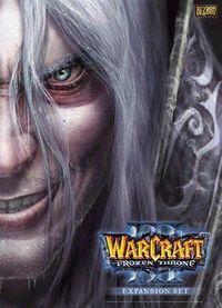 Portada oficial de Warcraft 3: The Frozen Throne para PC