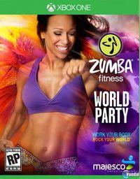 Portada oficial de Zumba Fitness World Party para Xbox One