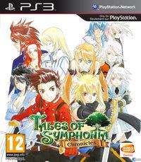 Portada oficial de Tales of Symphonia Chronicles para PS3