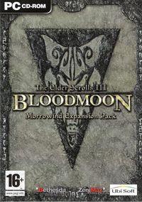 Portada oficial de Elder Scrolls 3: Bloodmoon para PC