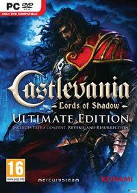 Portada oficial de Castlevania: Lords of Shadow Ultimate Edition para PC