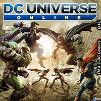 Portada oficial de DC Universe Online PSN para PS4
