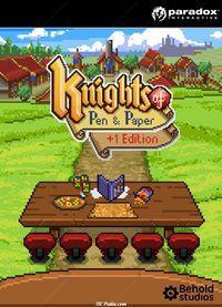 Portada oficial de Knights of Pen and Paper +1 Edition para PC