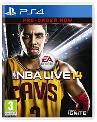 Portada oficial de NBA Live 14 para PS4