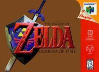 Portada oficial de The Legend of Zelda: Ocarina of Time para Nintendo 64