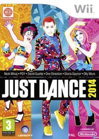 Portada oficial de Just Dance 2014 para Wii