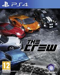 Portada oficial de The Crew para PS4