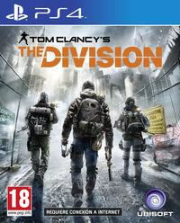 Portada oficial de Tom Clancy's The Division para PS4