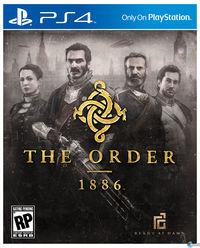 Portada oficial de The Order: 1886 para PS4