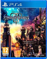 Portada oficial de Kingdom Hearts III para PS4