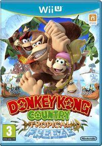 Portada oficial de Donkey Kong Country: Tropical Freeze para Wii U