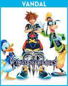 Portada oficial de de Kingdom Hearts III para PS4