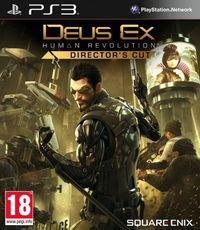Portada oficial de Deus Ex: Human Revolution - Director's Cut para PS3