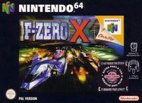 Portada oficial de F-Zero X para Nintendo 64