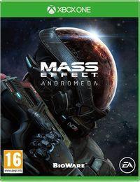 Portada oficial de Mass Effect: Andromeda para Xbox One