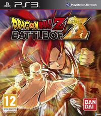 Portada oficial de Dragon Ball Z: Battle of Z para PS3