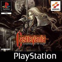 Portada oficial de Castlevania: Symphony of the Night para PS One