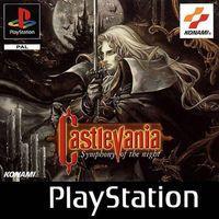 Portada oficial de Castlevania: Symphony of the Night para PS One