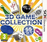 Portada oficial de 3D Game Collection eShop para Nintendo 3DS