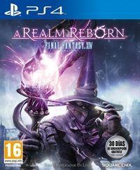 Portada oficial de Final Fantasy XIV: A Realm Reborn para PS4