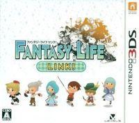 Portada oficial de Fantasy Life Link para Nintendo 3DS