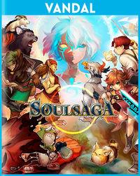 Portada oficial de Soul Saga para PSVITA