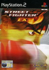 Portada oficial de Street Fighter EX3 para PS2