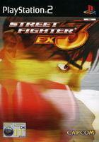 Portada oficial de de Street Fighter EX3 para PS2