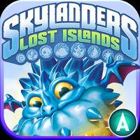 Portada oficial de Skylanders Lost Islands para iPhone