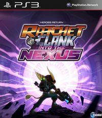 Portada oficial de Ratchet & Clank: Nexus para PS3