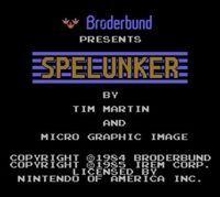 Portada oficial de Spelunker CV para Wii U