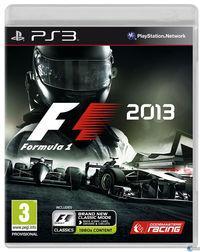 Portada oficial de F1 2013 para PS3