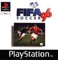 Portada oficial de FIFA 96 para PS One