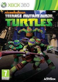 Portada oficial de Teenage Mutant Ninja Turtles para Xbox 360