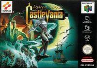 Portada oficial de Castlevania: Legacy of Darkness para Nintendo 64