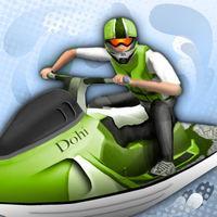 Portada oficial de Aqua Moto Racing para iPhone