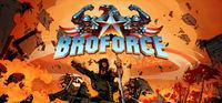 Portada oficial de Broforce para PC