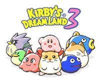 Portada oficial de Kirby's Dream Land 3 CV para Wii U