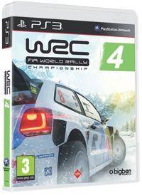 Portada oficial de WRC 4 para PS3