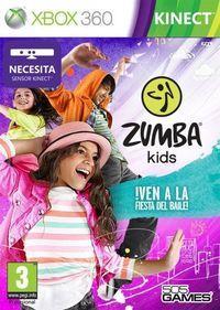 Portada oficial de Zumba Kids para Xbox 360