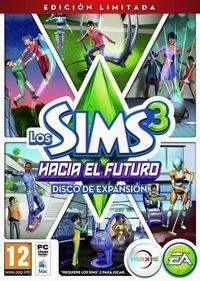 Portada oficial de Los Sims 3 Hacia el Futuro para PC