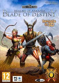 Portada oficial de Realms of Arkania: Blade of Destiny para PC