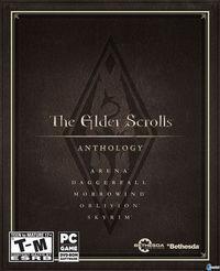 Portada oficial de The Elder Scrolls Anthology para PC