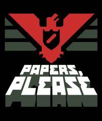 Portada oficial de Papers, Please para PC
