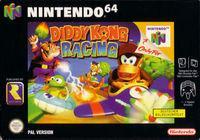 Portada oficial de Diddy Kong Racing para Nintendo 64