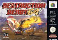 Portada oficial de Destruction Derby  para Nintendo 64