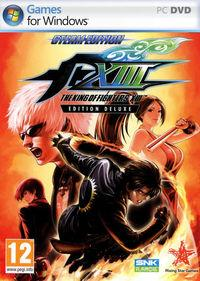 Portada oficial de The King of Fighters XIII Steam Edition para PC
