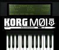 Portada oficial de KORG M01D eShop para Nintendo 3DS